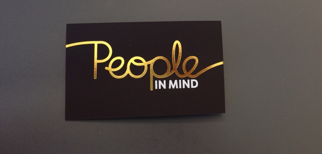 Peopleinmind Visitkort