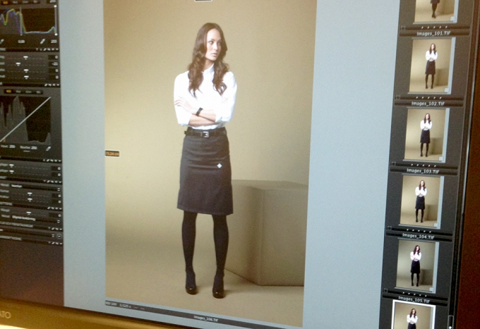 Photo Shoot For Ted Bernhardtz At Work