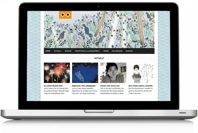 Mirando Website 01